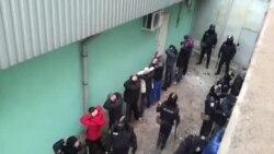 18 молодиків намагалися прорватися на Форум Євромайданів у Харкові