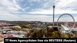 Увеселителният парк Лесеберг в Швеция е затворен заради увеличението на броя на случаите на коронавирус в района.