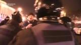 Supporters Of Ukrainian Blockade Clash With Police