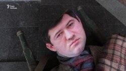 Лялькового екс-фіскала Насірова носили центром Харкова (відео)