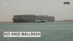 Vazhdon bllokada në Suez nga anija e ngecur