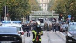 Jake policijske snage na ulicama Nice