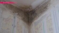 Погорельцы в Хакасии по-прежнему живут в домах с плесенью