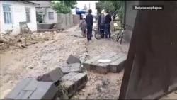 Офати табиӣ дар ноҳияи Хуросон