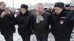 Народный сход закончился задержаниями