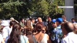 «Парада не видно» – туристы на день ВМФ Роcсии в Севастополе