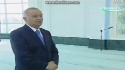 Каримов на открытии мечети «Минор»