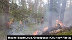 Лесные пожары в Якутии. Лето 2021 года