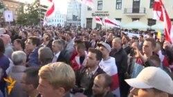 Belarusians Protest Russian Air Base Plan