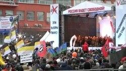 Митинг на проспекте Сахарова: Евгения Чирикова