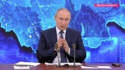 Putin yenə vədlər verdi, sakinlərsə ona inanmır