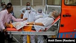 بیمار کووید-۱۹ در هند