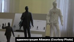 Макеты для памятника Николаю Булакину.