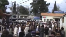 Жертвы землетрясения в госпитале в округе Сват (провинция Хайбер-Пахтунхва, Пакистан)