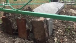 Бәчек авылында 90лап кабер ташы мәсхәрәләнгән