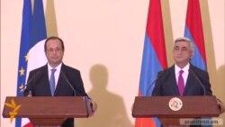 Ֆրանսուա Օլանդը հասկանում է Հայաստանի դիրքորոշումը Ղրիմի հարցում