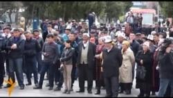 Жалал-Абад: оппозициянын митинги