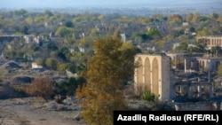 İşğaldan azad olunan Ağdam şəhərinin görüntüsü, 24 noyabr 2020