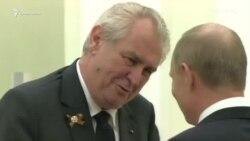 5 лет правления президента Чехии: что он говорил о Крыме (видео)