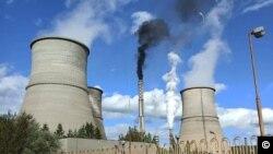 Електраната на јаглен Бобов дол во Бугарија.