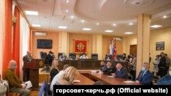 Сессия подконтрольного России городского совета Керчи, 29 января 2021 года
