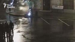Кадры инцидента на сухумской набережной