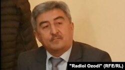Абдумавлон Абдуллозода, сардори собиқи Маркази беҳдоштии вилояти Суғд