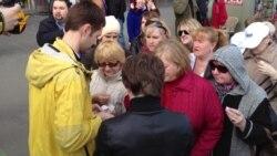 ЛДПР платит участникам митинга