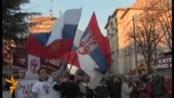 Pro-Russian Demonstration In Belgrade