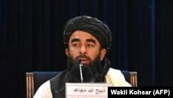 ذبیحالله مجاهد سخنگوی گروه طالبان