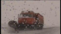 Урал аръягын көчле буран каплады