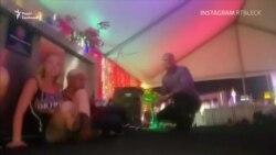 Аматорське відео стрілянини у Лас-Вегасі
