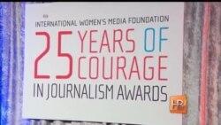 Звезды Голливуда чествовали военных репортеров-женщин