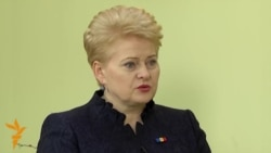 Interview: Lithuanian President On Russia, Moldova, And EU