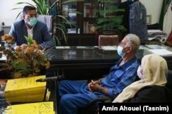 پدر و مادر بابک خرمدین تحت بازجویی ، تهران ، مه 2021