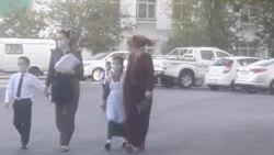 Aşgabadyň mekdeplerinde maska režimine gözegçilikler güýçlendirildi