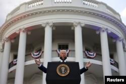 Președintele american Joe Biden la Casa Albă, de la 4 iulie, ziua națională a Statelor Unite, Washington, 4 iulie 2021.