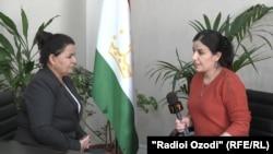 Беседа корреспондента Радио Озоди с Латофат Назири