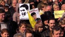 «Влада повинна організувати окрему переговорну лінію по справі Савченко» – Тимошенко (відео)