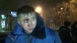 Бишкек: избили сотрудника ДПС