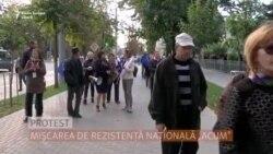 Mișcarea ACUM protestează la Chișinău