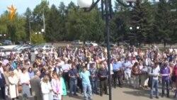 Иркутск. Ученые вновь протестуют