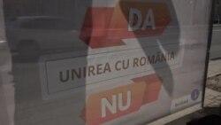 """""""Da"""" sau """"Nu"""" Unirii Republicii Moldova cu România"""
