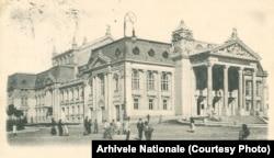 Teatrul Național din Iași, una dintre clădirile construite în timpul domniei lui Carol I.