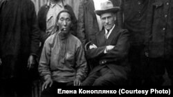 Владимир Арсеньев и Акунка Бутунгари. 1920-е годы