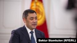 Қырғызстан президенті Садыр Жапаров