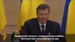 "Yanukovych: ""Nobody Has Ousted Me"""