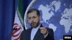 ِسعید خطیبزاده، سخنگوی وزارت خارجه ایران
