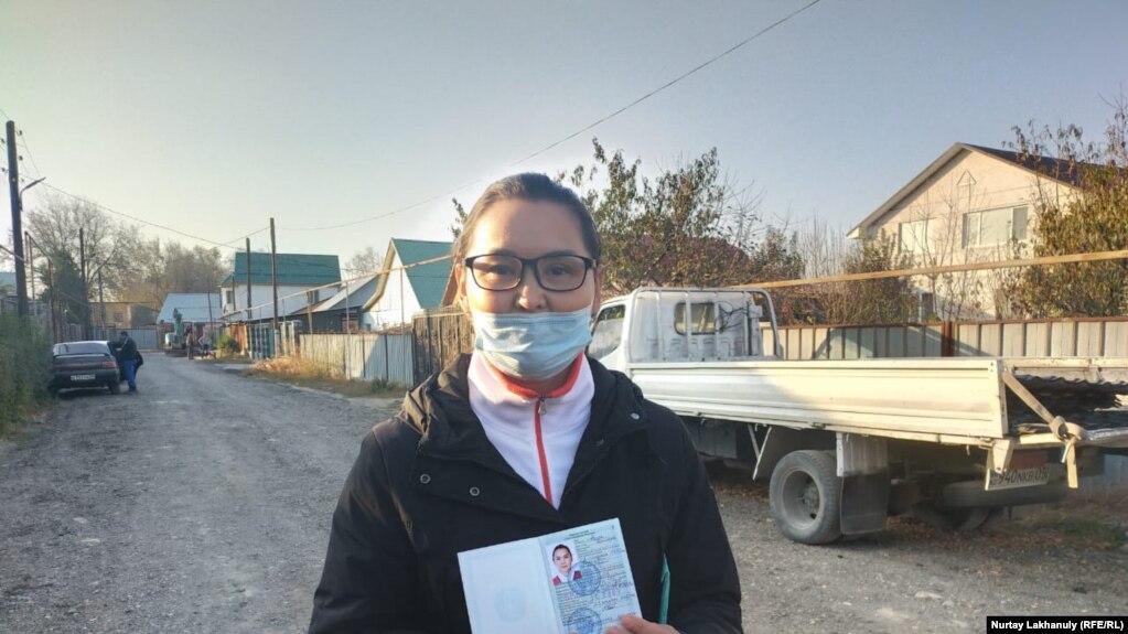 Беженка из Синьцзяна Кайша Акан. 30 октября 2020 года.