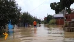 Krasnodarda seldən xilas olanlar vəziyyətlərini izah edirlər